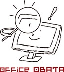 ホームページ制作 オフィスオバタプロフィール・ロゴ
